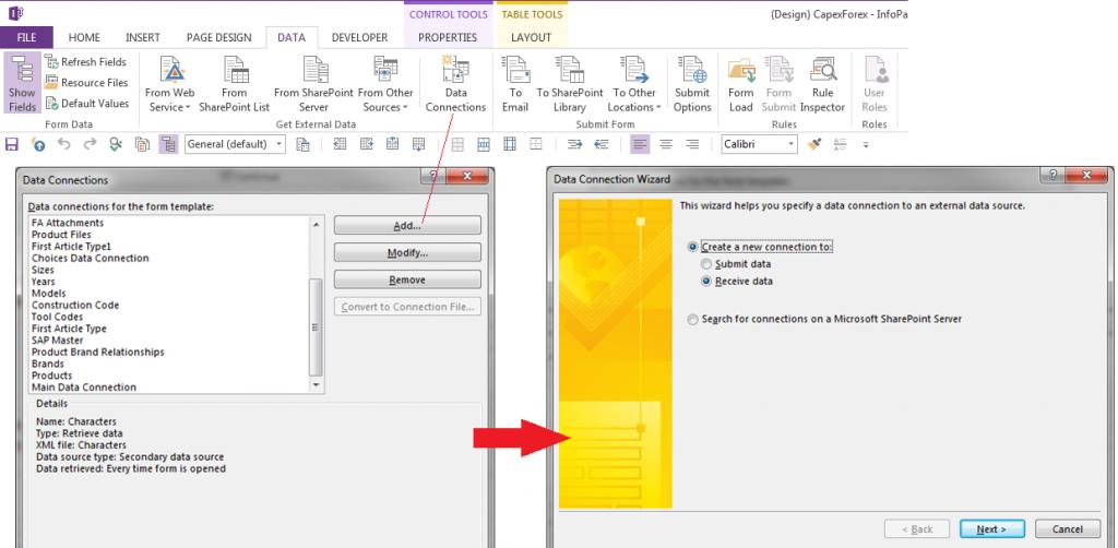 userName – Codeless SharePoint and InfoPath